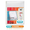 Elba Expanding Pocket Extra Capacity With Flap A4 Clear Ref 100080754 [Pack 10]