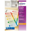 Avery ReadyIndex Dividers Mylar Tabs A4 1-6 Ref 01734501