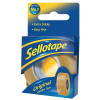 Sellotape Original Golden Tape Roll Non-static Easy-tear Large 25mmx66m Ref 1443306 [Pack 6]