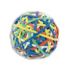 5 Star Office Rubber Band Ball of 200 Bands Natural Rubber Assorted Ref RBB1