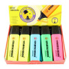 Stabilo Boss Highlighters Chisel Tip 2-5mm Line Assorted Ref 70/6 [Wallet 6]