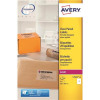 Avery Clear Addressing Labels Laser 1 per Sheet 210x297mm Ref L7567-25 [25 Labels]