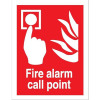 Stewart Superior Fire Alarm Call Point Self Adhesive Sign Ref FF073SAV