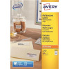 Avery Multifunction Copier Labels 65 per Sheet 38.1x21.2mm White Ref 3666 [6500 Labels]