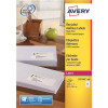 Avery Addressing Labels Laser Recycled 14 per Sheet 99.1x38.1mm White Ref LR7163-100 [1400 Labels]