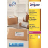 Avery Addressing Labels Laser Recycled 2 per Sheet 199.6x143.5mm White Ref LR7168-100 [200 Labels]