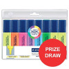 Staedtler 430 Stick Ball Pen Medium 1.0mm Tip 0.35mm Line Blue Ref 430M-3 [Pack 10]