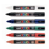 uni Posca PC5M Marker Medium Tip Line Width 1.8-2.5mm Assorted Ref 153486464 [Pack 6]