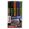 Pentel Chisel Tip Permanent Marker Assorted (Pack of 5) YN860/5-M