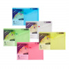 Snopake Polyfile Classic Wallet File Polypropylene Foolscap Assorted Pack of 5