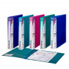 Snopake 25mm 2 Ring Ring Binder Polypropylene A4 Electra Assorted (Pack of 10) 10165