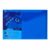 Snopake Polyfile Wallet File Foolscap Electra Blue PK5