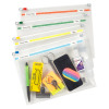 Snopake Zippa-Bag 250 x 180mm A5 Plus Assorted (Pack of 25) 11448