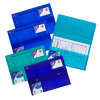 Snopake PolyPlus Electra Wallet A4 Assorted (Pack of 5) 11756