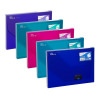 Snopake Document Box 25mm A4 Electra Assorted (Pack of 5) 14832