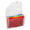 Snopake Rainbow 6 part Expanding Organiser A4