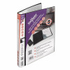 Snopake ZipIt ReOrganiser Presentation Display Book 40 Pocket Black