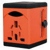Swordfish VariPlug Univers Travel Adapter Orange 40253