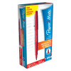 Paper Mate Flair Felt Tip Pens 1.0mm  Tip 0.8mm Line Red Ref S0190993 [Pack 12]
