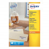 Avery Multipurpose Labels Laser Copier Inkjet 16 per Sheet 105x37mm White Ref 3484 [1600 Labels]