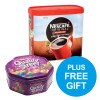 Nescafe Original Instant Coffee Granules Tin 750g Ref 12315566 [x2 & FREE Quality Street] Oct-Dec 2018