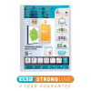 Elba Polyvision Display Book 20 Pockets A4 Clear Ref 100206088-XX [3 For 2] Jan-Dec 2018
