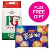 PG Tips Tea Bags Pyramid 1 Cup Ref 17948501 [Pack 1150] [FREE Biscuits] Jul-Sep 2018