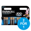 Duracell Ultra Power MX1500 Battery Alkaline 1.5V AA Ref 81235497 [Pack 8] [2 for 1] Dec 2018