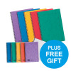 Europa Notebook Twinwire Sidebound Ruled A4 Assorted Ref 4860Z [Pack 10] [FREE A5 Notebooks] Oct 2018
