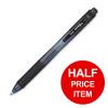 Pentel EnerGel X Rollerball Retractable Black Ref BL107-A [Pack 12] [Buy 1 Get 1 Half Price] Jan-Mar 2019