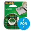 Scotch Magic Tape Crd Disp 19mmx25m Ref 8-1925D [2 for 1] Oct-Dec 19