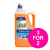 Flash Prof All Purpose Cleaner for Washable Surface 5 Litre Citrus Fragrance Ref 76099 [3 for 2] Jan 2020