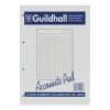 Guildhall Account Pad 8 Cash Column Ruled 54 Feint Summary 60 Leaf A4 Ref GP8SZ