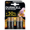 Duracell Plus Power Battery Alkaline 1.5V AA Ref 81275182 [Pack 4]