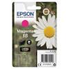 Epson 18 Inkjet Cartridge Daisy Page Life 180pp 3.3ml Magenta Ref C13T18034012