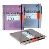 Pukka Pad Project Book Wirebound 200pp 80gsm A4+ Metallic Ref 6970-MET [Pack 3]