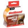 UniBond Carpet To Floor Tape Permanent 50mmx10m Ref 1667748