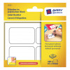 Avery Multipurpose Labels Pad Permanent 45x30mm White Ref 5052 [100 Labels]