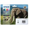 Epson 24XL Inkjet Cartridge Elephant High Yield Page Life 500pp 10ml Black Ref C13T24314012