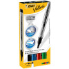 Bic Velleda Whiteboard Marker Liquid Ink Assorted 902094 [Pack 4]