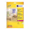Avery Crystal Clear Label 10 Per Sheet 96x50.8mm Ref L7783-25 [250 Labels]