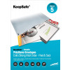 Keepsafe Envelope Extra Strong Polythene Opaque DX W440xH320mm Peel & Seal Ref KSV-MO3 x 5 [Pack 5]