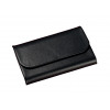 Sigel Torino Business Card Case Leather 25 Card Capacity 65x102x15mm Magnetic Closure Black
