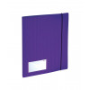 GLO Display Book 20 Pockets A4 Purple