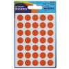 Avery Packets of Labels Diam.13mm Orange Ref 32-505