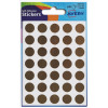 Avery Packets of Labels Diameter 13mm Gold Ref 32-511 [Pack 245]