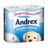 5 Star Facilities Toilet Rolls 2-ply 102x92mm 4 Rolls of 320 Sheets Per Pack White [Pack 9]