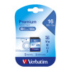 Verbatim SDHC Media Memory Card SD 2.0 FAT32 Class 10 Read 10MB/s Write 10MB/s 16GB Ref 43962