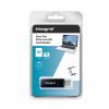 Integral Memory Card Reader SD and Micros Formats USB 3.0 Dual Slot Ref INCRUSB3.0SDMSD