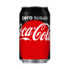 Coca Cola Coke Zero Soft Drink Can 330ml Ref 0402003 [Pack 24]